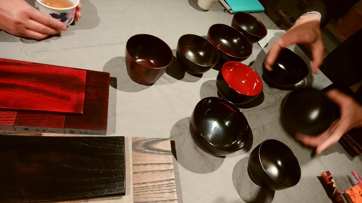 「PINTの夜会」漆の器