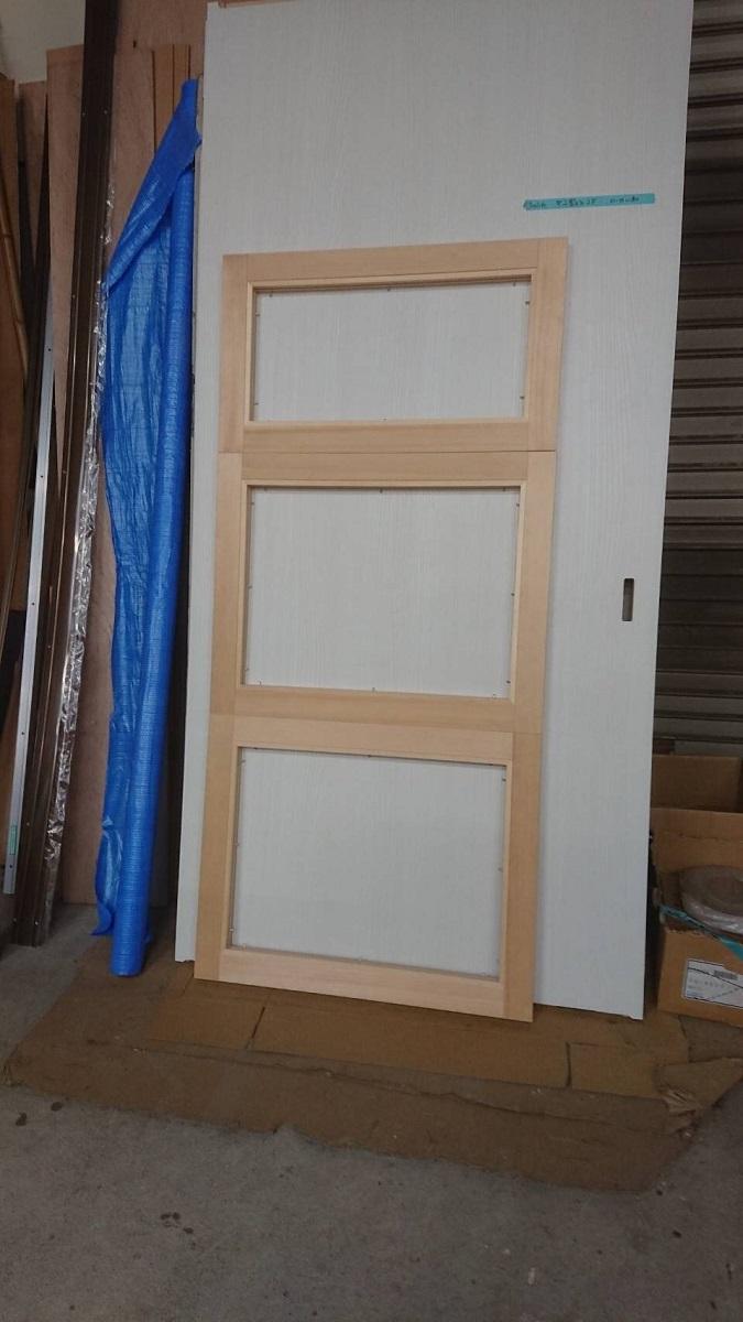 工房のドア