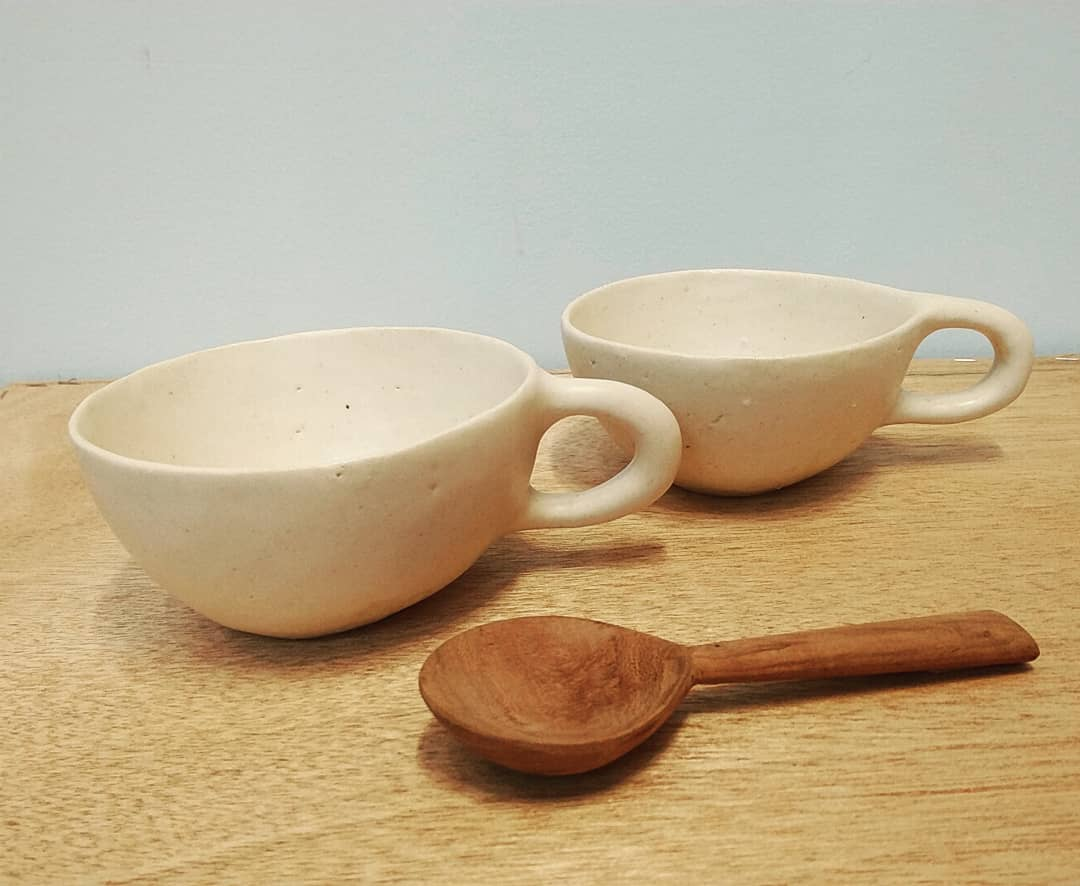 スープカップ and ピッチャー
