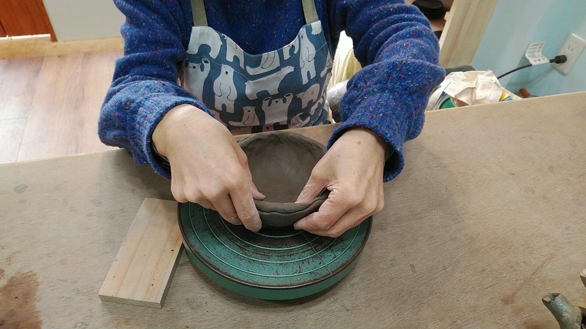 初、ひだまり陶芸教室