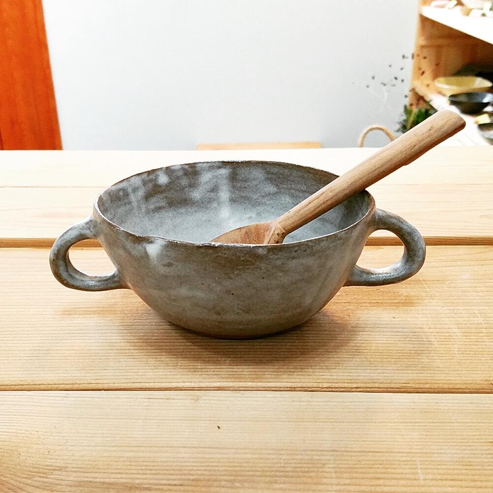 ダブルハンドル・スープカップ