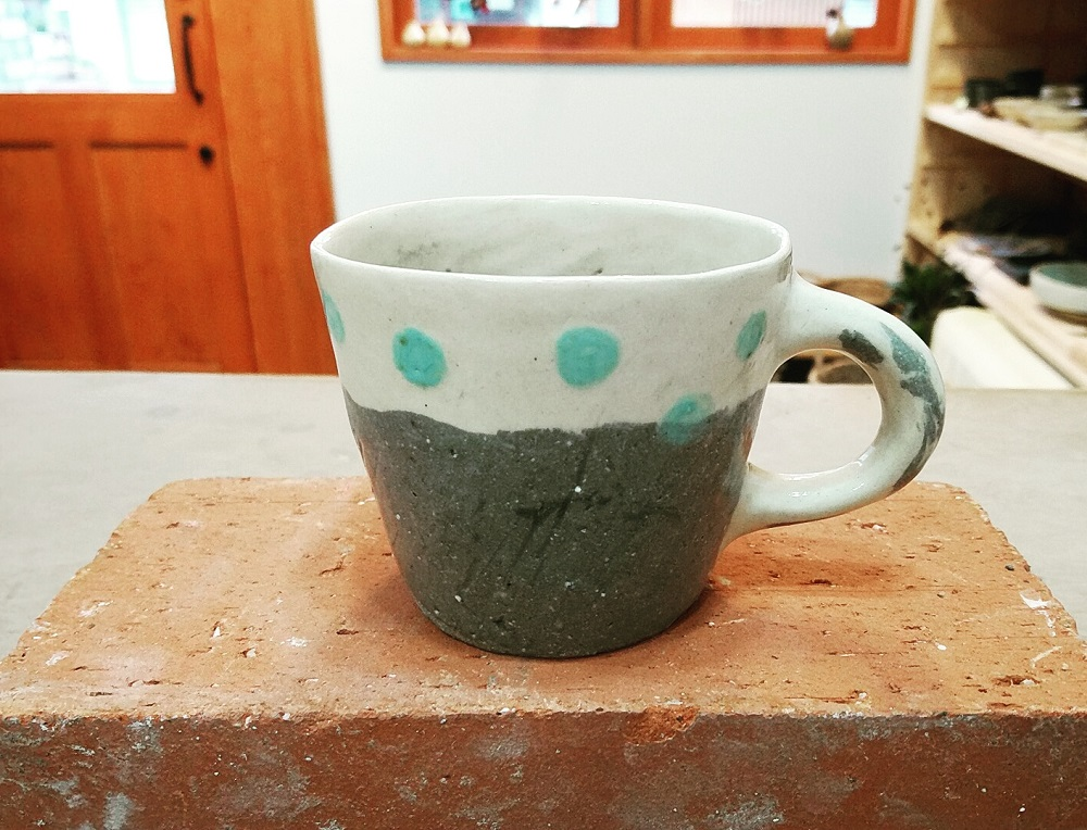 ツートンカラーマグカップ