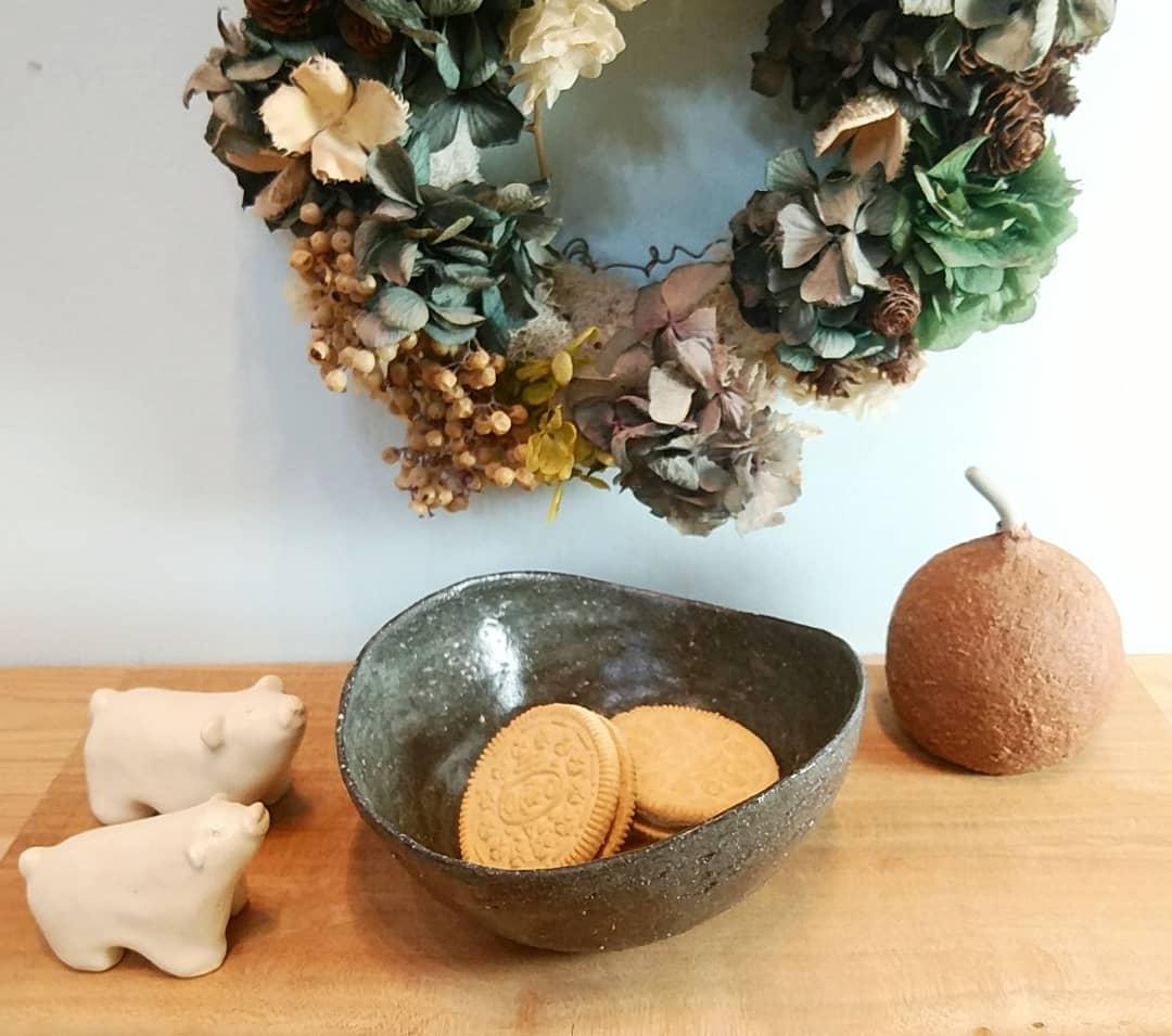 アシンメトリー鉢